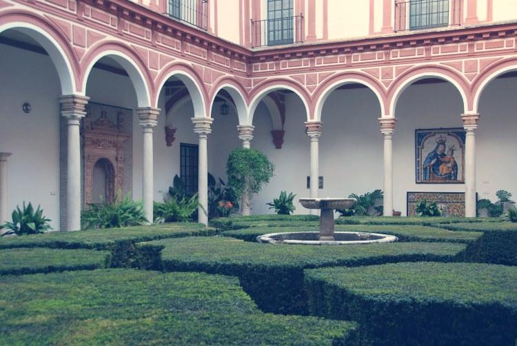 Museo de Bellas Artes de Sevilla Patio de los Bojes